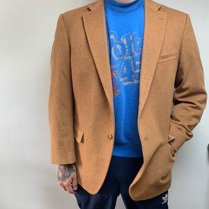Wicked Soft Cashmere Tan Brown Blazer